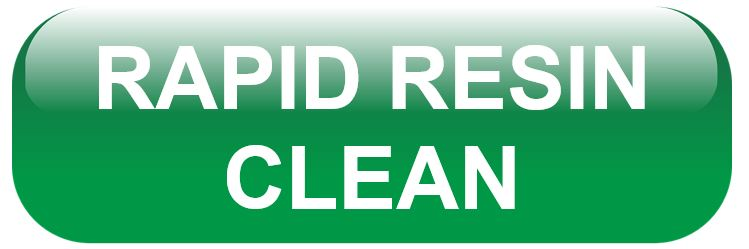 Rapid Resin Clean Infographic